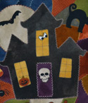 Spooky House Crazy Mat